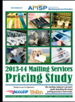 The 2013-2014 Mailing Services Pricing Study