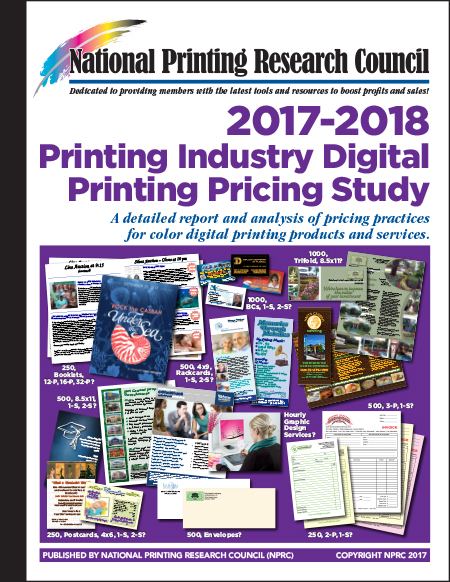 2017-2018 Printing Industry Digital Printing Pricing Study
