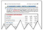 Average Pricing for Brokered Business Cards