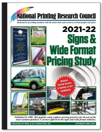 2021-22 Signs & Wide Format Pricing Study